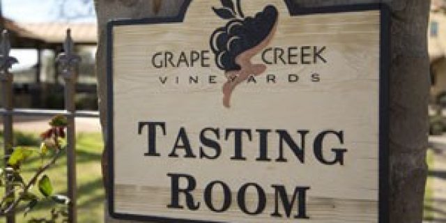 Grape Creek Vineyards- Fredericksburg TX